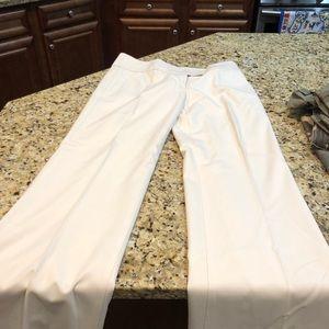 Bebe size 8 cream dress pants